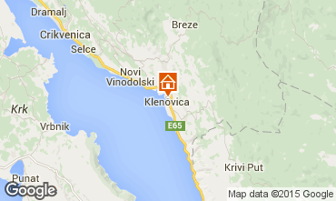 Mapa Klenovica Apartamentos 76573