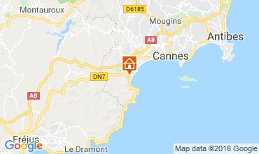 Mapa Cannes Apartamentos 116694