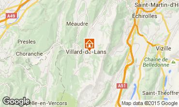 Mapa Villard de Lans - Corren�on en Vercors Apartamentos 101393