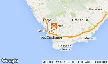 Mapa Los Cristianos Apartamentos 5064