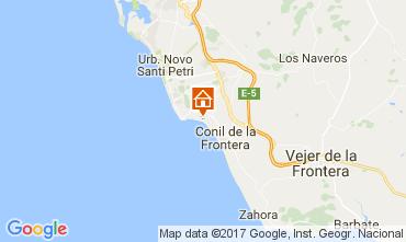 Mapa Conil de la Frontera Vivenda 94536