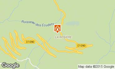 Mapa La Rosi�re 1850 Apartamentos 101652