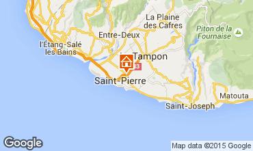Mapa Saint Pierre (Réunion) Apartamentos 76076