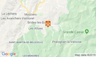 Mapa Courchevel Chalé 106839