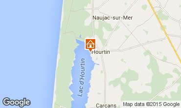 Mapa Hourtin Apartamentos 10882