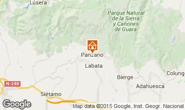 Mapa Alquézar Casa de turismo rural/Casa de campo 75993