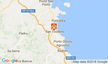 Mapa San Teodoro Casa 107576