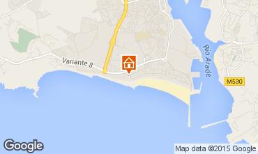 Mapa Praia da Rocha Apartamentos 88022