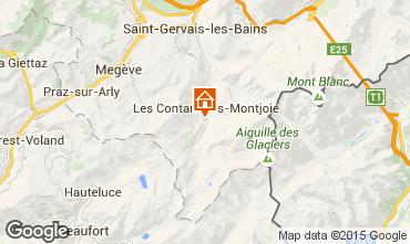 Mapa Les Contamines Montjoie Apartamentos 927