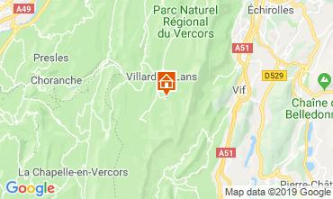 Mapa Villard de Lans - Corren�on en Vercors Est�dio 68518