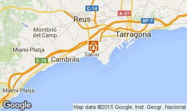 Mapa Salou Apartamentos 94659
