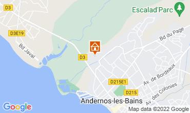 Mapa Andernos les Bains Casa de turismo rural/Casa de campo 81528