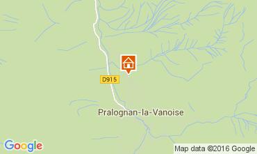 Mapa Pralognan la Vanoise Apartamentos 103987