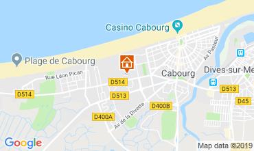 Mapa Cabourg Apartamentos 69525
