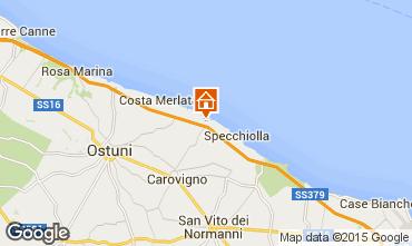 Mapa Ostuni Vivenda 95255