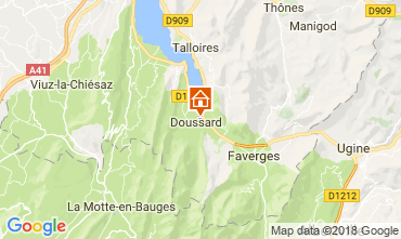Mapa Annecy Apartamentos 115180