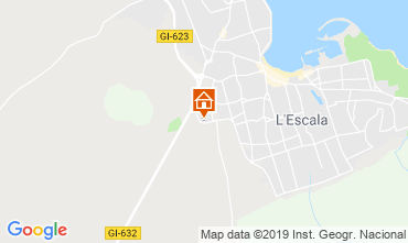 Mapa L'escala Apartamentos 28455