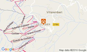 Mapa Le Corbier Apartamentos 106400