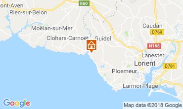 Mapa Guidel - Guidel Praia Casa de turismo rural/Casa de campo 76206