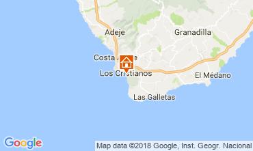 Mapa Los Cristianos Apartamentos 113441