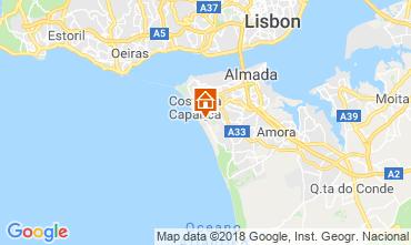 Mapa Caparica Vivenda 116278