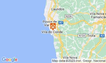 Mapa Vila do Conde Apartamentos 75567