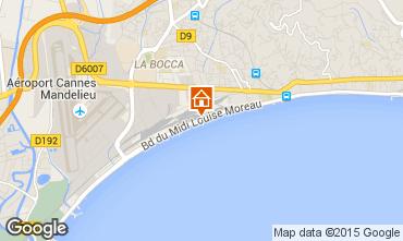 Mapa Cannes Apartamentos 30867