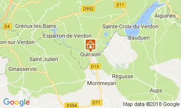 Mapa Sainte-Croix-du-Verdon Apartamentos 65232