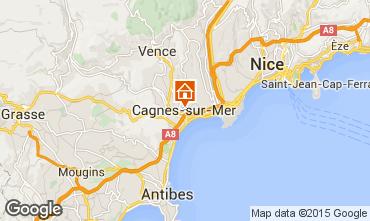 Mapa Nice Apartamentos 69989