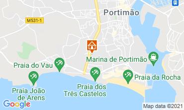 Mapa Praia da Rocha Apartamentos 107512