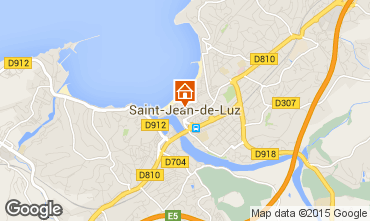 Mapa Saint Jean de Luz Apartamentos 47679