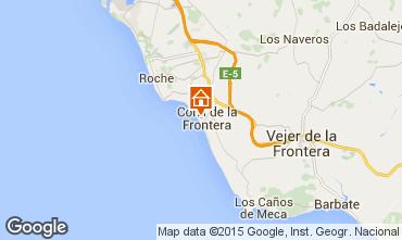 Mapa Conil de la Frontera Apartamentos 94764