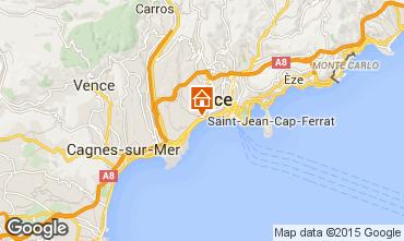 Mapa Nice Apartamentos 93557