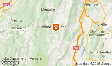 Mapa Villard de Lans - Corren�on en Vercors Apartamentos 88279