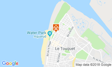 Mapa Le Touquet Estúdio 117441