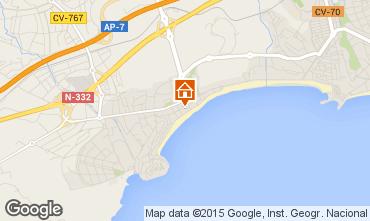 Mapa Benidorm Apartamentos 82771