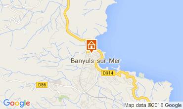 Mapa Banyuls-sur-Mer Apartamentos 96829