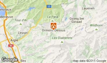 Mapa Les Diablerets Apartamentos 73953