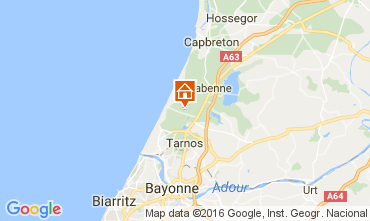 Mapa Capbreton Casa 106648