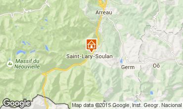 Mapa Saint Lary Soulan Apartamentos 16744