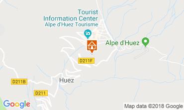 Mapa Alpe d'Huez Apartamentos 101610