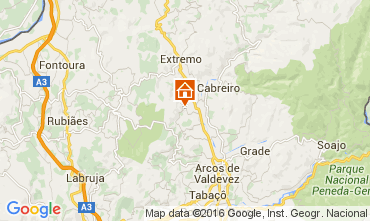 Mapa Arcos de Valdevez Casa de turismo rural/Casa de campo 104507