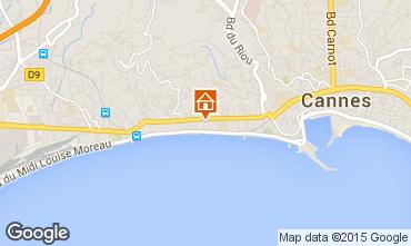 Mapa Cannes Apartamentos 44413