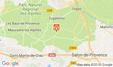 Mapa Eygalières Casa 114873