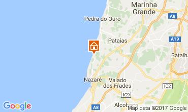 Mapa Nazaré Apartamentos 77005
