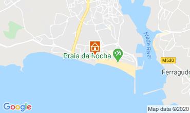 Mapa Praia da Rocha Apartamentos 119657