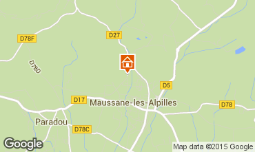 Mapa Maussane les Alpilles Vivenda 83537