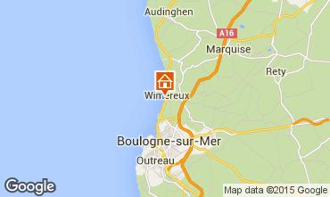 Mapa Wimereux Estúdio 93546