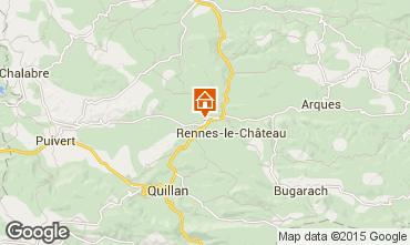 Mapa Limoux Casa de turismo rural/Casa de campo 100493