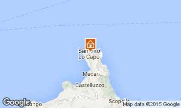 Mapa San Vito lo Capo Apartamentos 83160